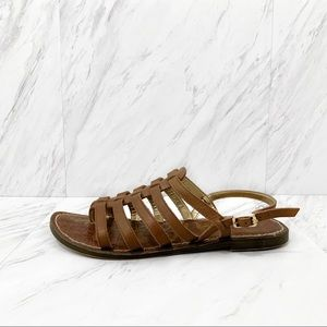 Sam Edelman- Brown Strappy Sandals Size 7.5